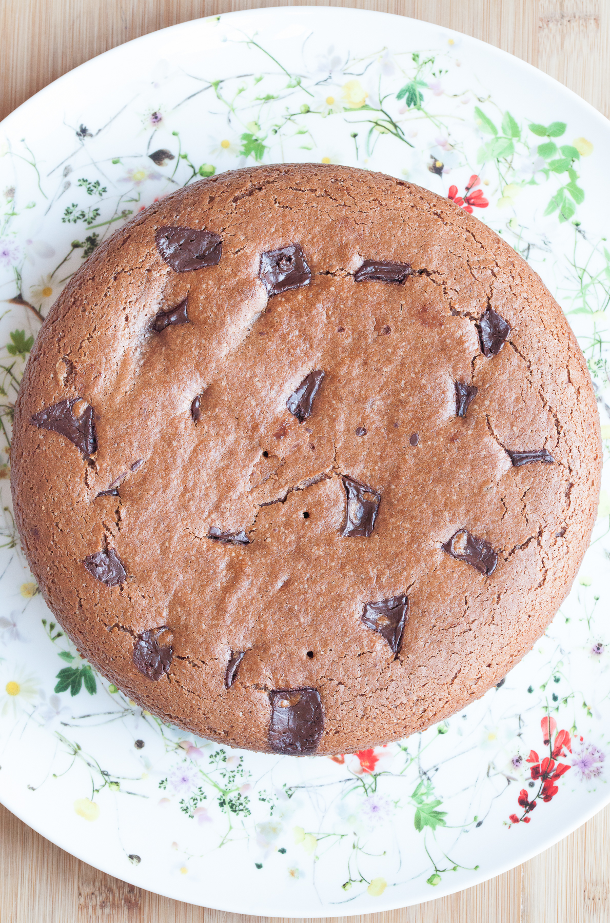 torta al doppio cioccolato