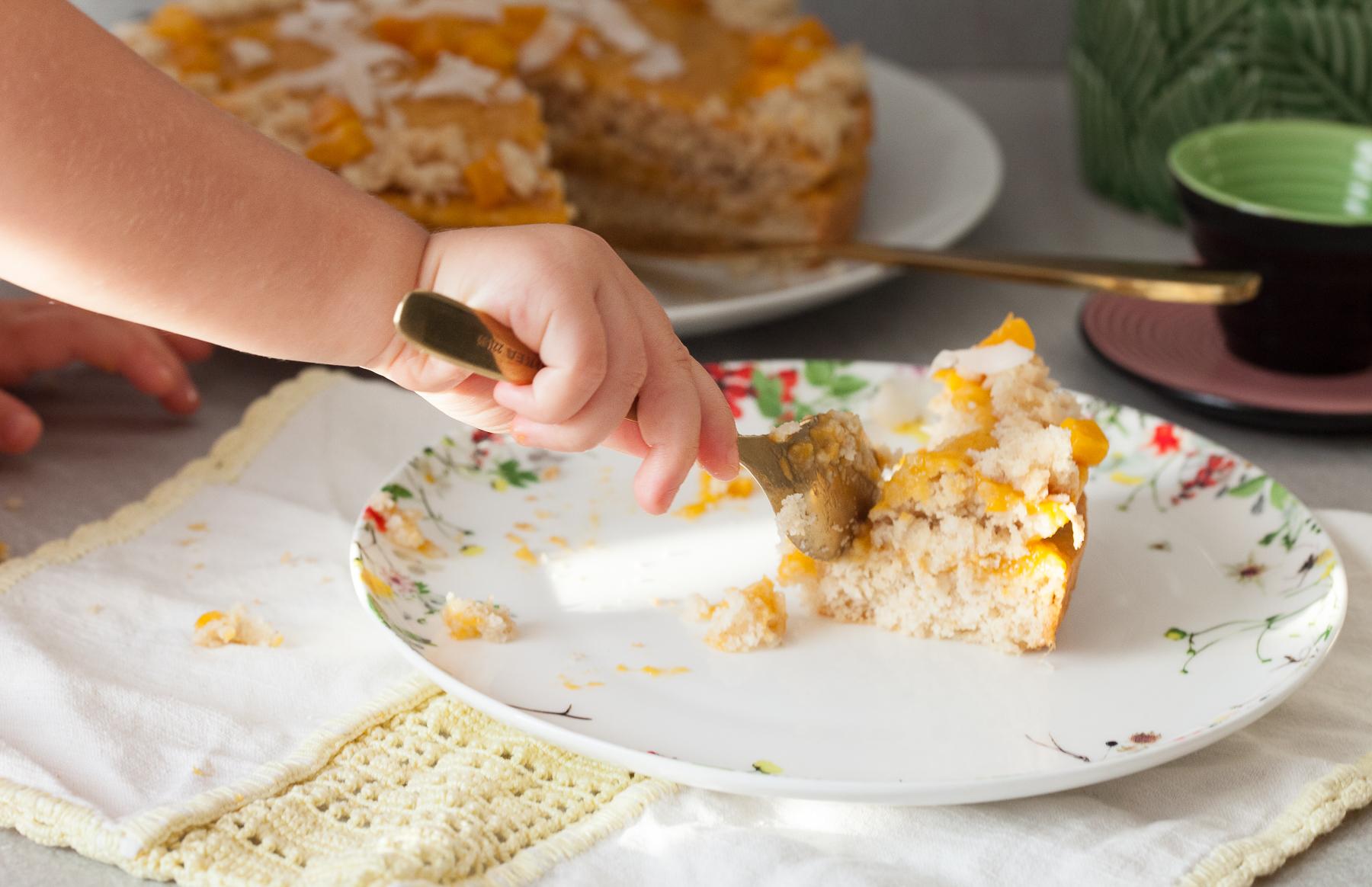 torta cocco e mango