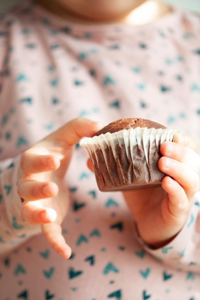 muffin cioccolato e pere Sara apre