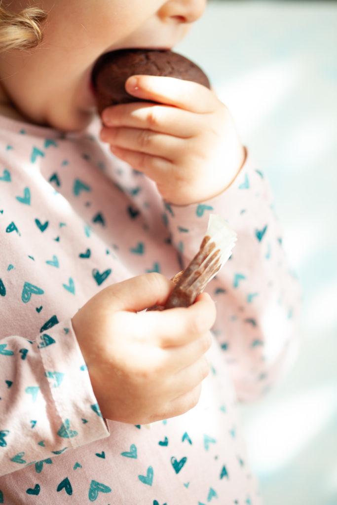 muffin cacao e pere Sara
